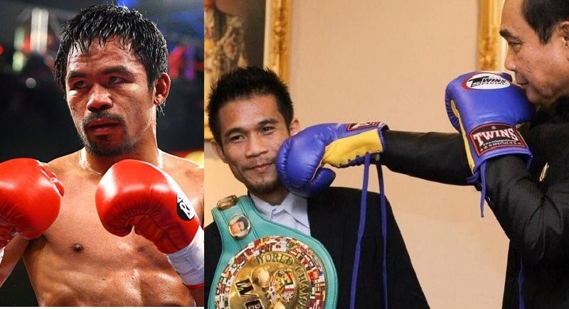 Filipino boxing champ