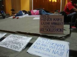 holy angel university teacher's strike 13