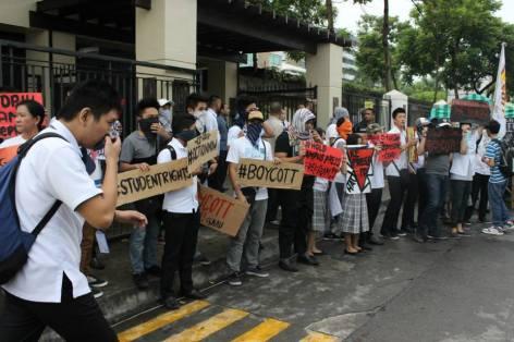 holy angel university teacher's strike 11