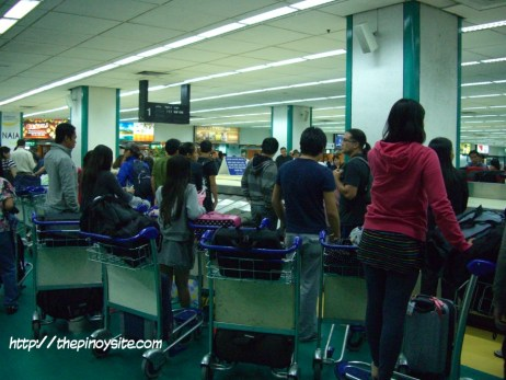 baggage retrieval naia 1