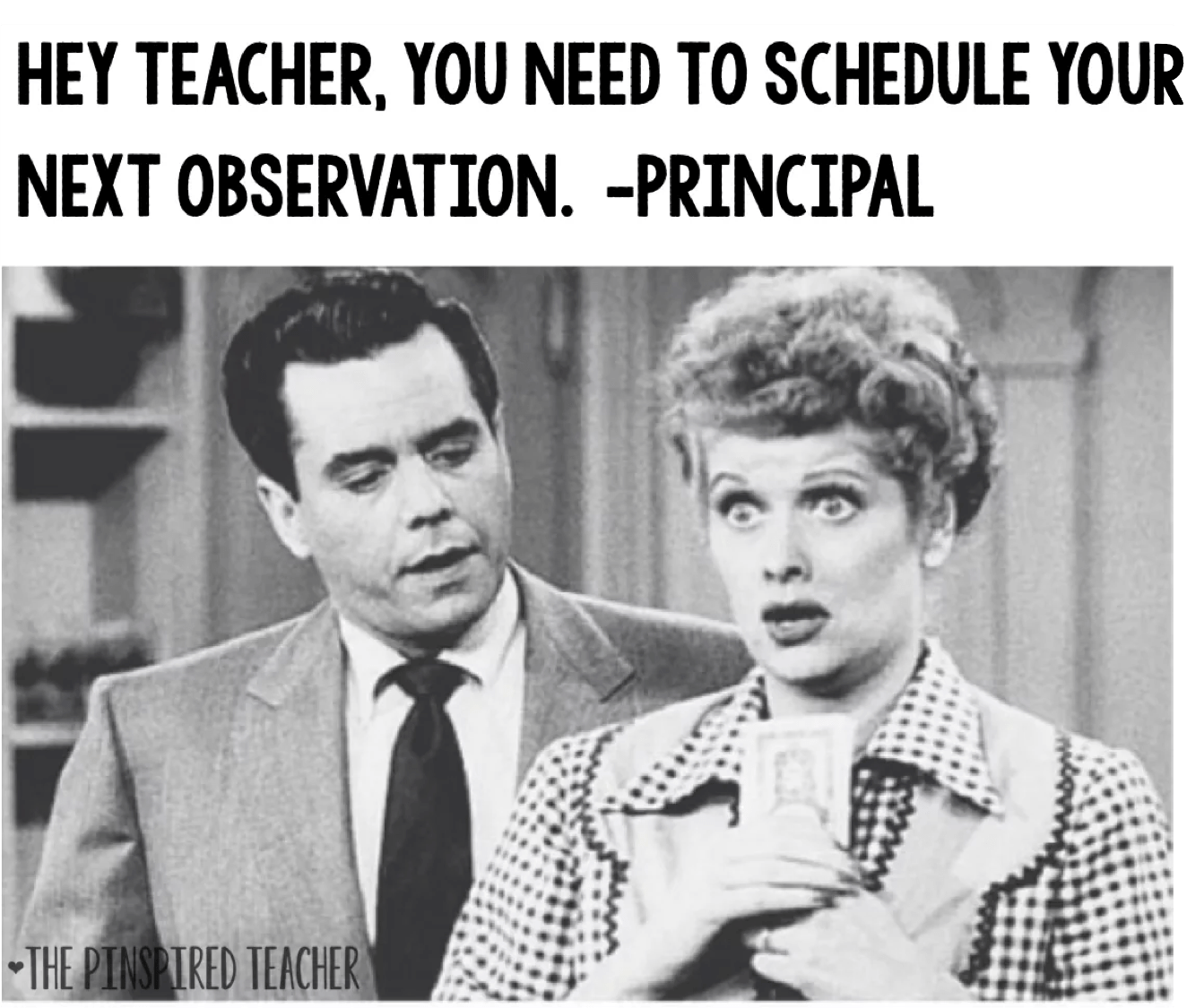 Teacher Observation Meme by The Pinspired Teacher
