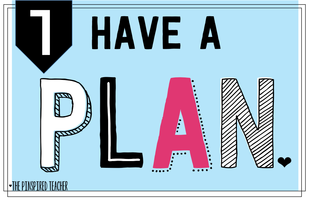 tip 1 how to plan the end of the year by the pinspired teacher