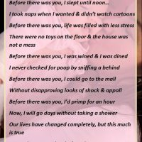 Before There Was You - A Mommy's Poem