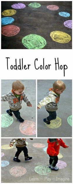 Toddler Color Hop - Gross Motor Color Recogntion Game (1)