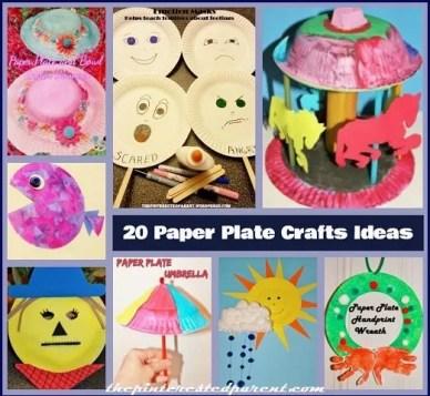 20 Paper Plate Crafts