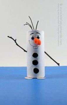 Cardboard-Tube-Olaf-2