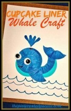 Cupcake-liner-whale-craft