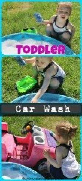 Toddler Car Wash