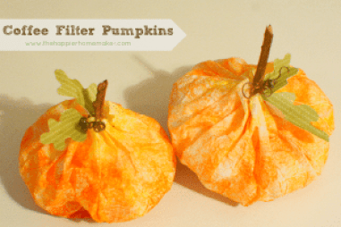 coffee-filter-Pumpkins
