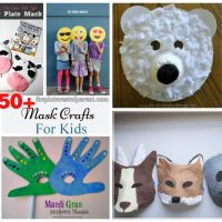 50+ Mask Crafts For Your Kids