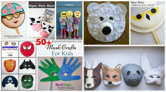 50 Mask Crafts for kids