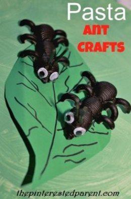 Pasta-Ant-Crafts