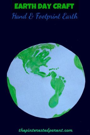Hand-Footprint-Earth-Earth-Day-Craft