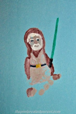 Footprint Inspired by Obi Wan Kenobi from Star Wars