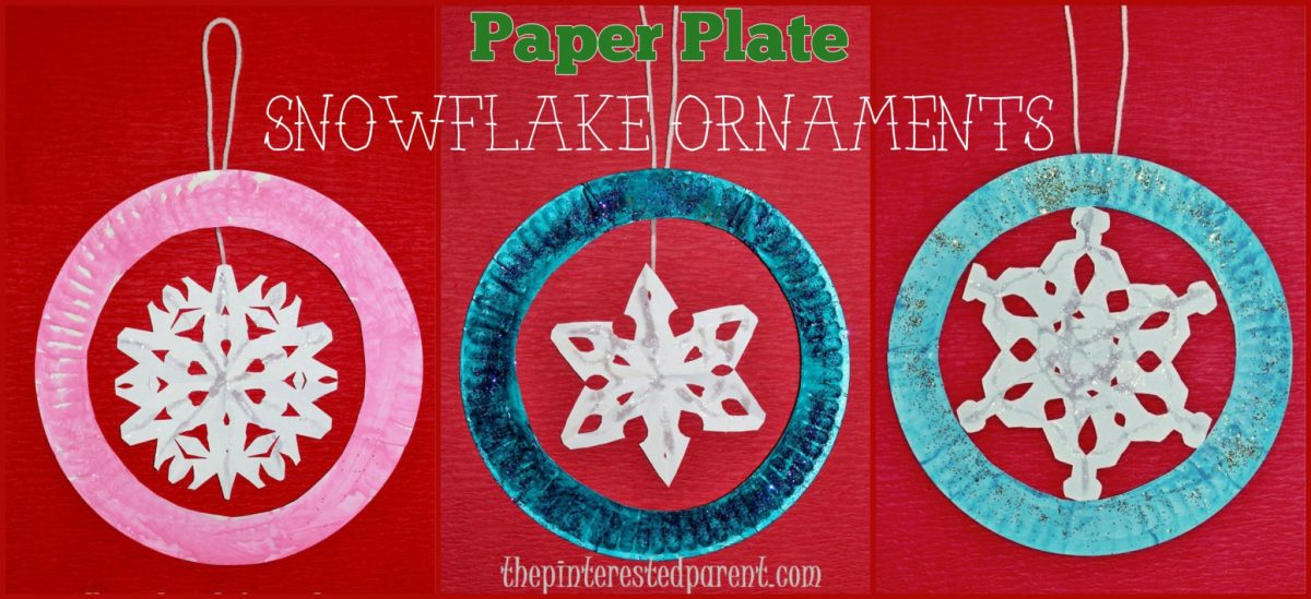 Snowflake Crafts For Kids