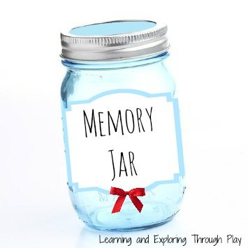 Memory Jar from Learning and Exploring Through Play