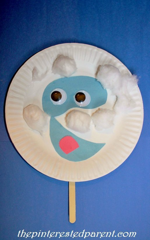 paper plate character masks