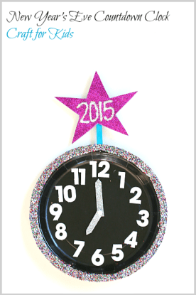New Year's Eve Kid's Countdown Clock from Buggy and Buddy
