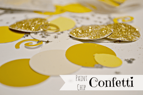 Paint Chip Confetti from The Life of Jennifer Dawn