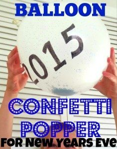 New Year's Confetti Poppers from Adventures In Wunderland