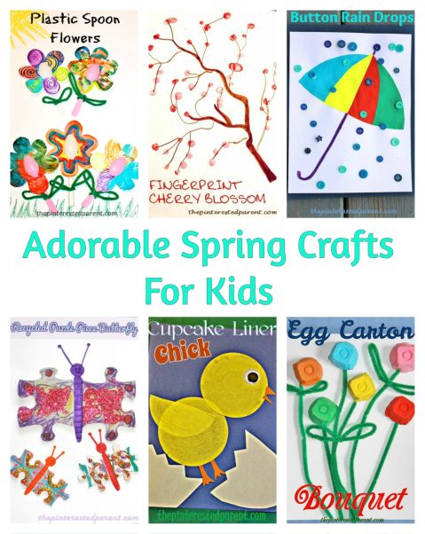Adorable & easy spring crafts for kids (2)