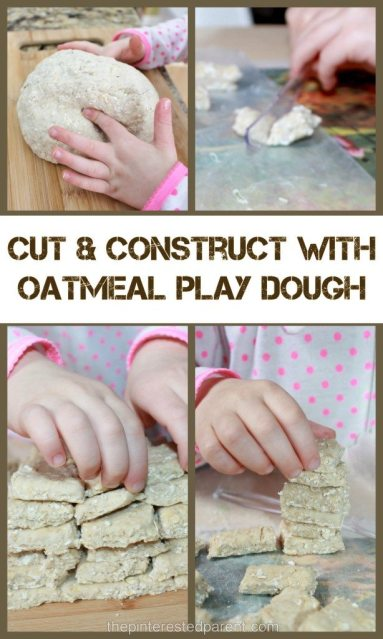Roll , Cut & Construct and Build with Play Dough - Fine motor for kids