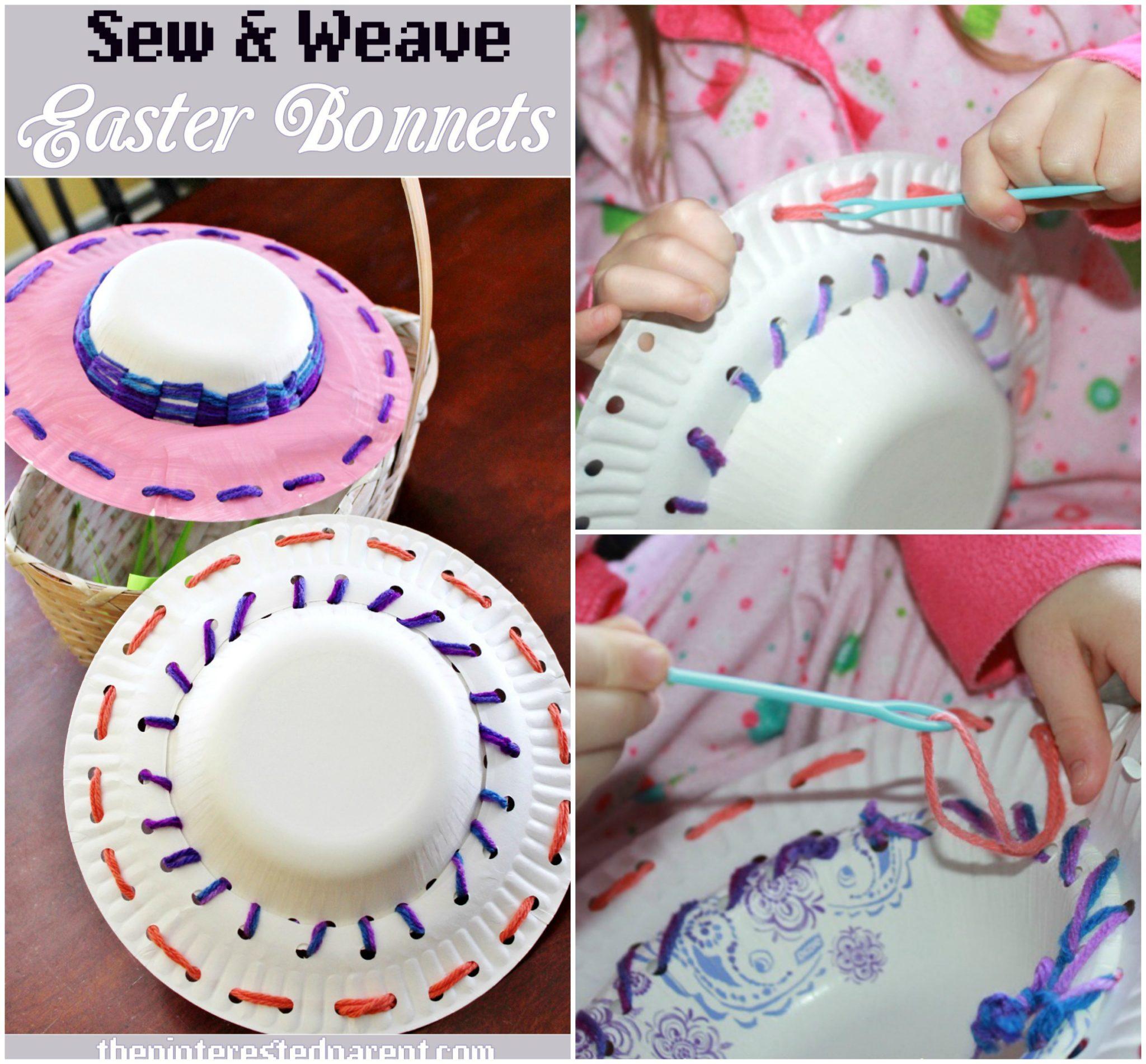 pas de taxe de vente meilleur prix fournisseur officiel Sew & Weave Easter Bonnets – The Pinterested Parent