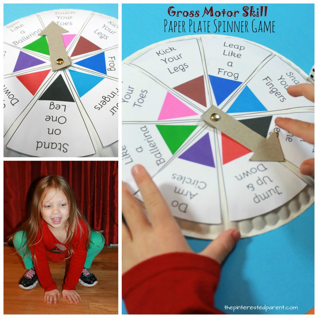 Spin Roll Amp Count Gross Motor Skill Game The