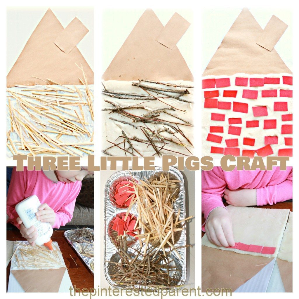 3 Little Pigs House Activity The Pinterested Parent