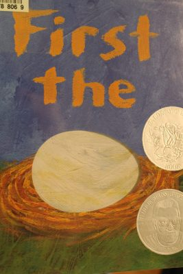First the Egg Children's book