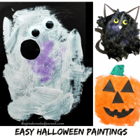Easy Halloween Paintings