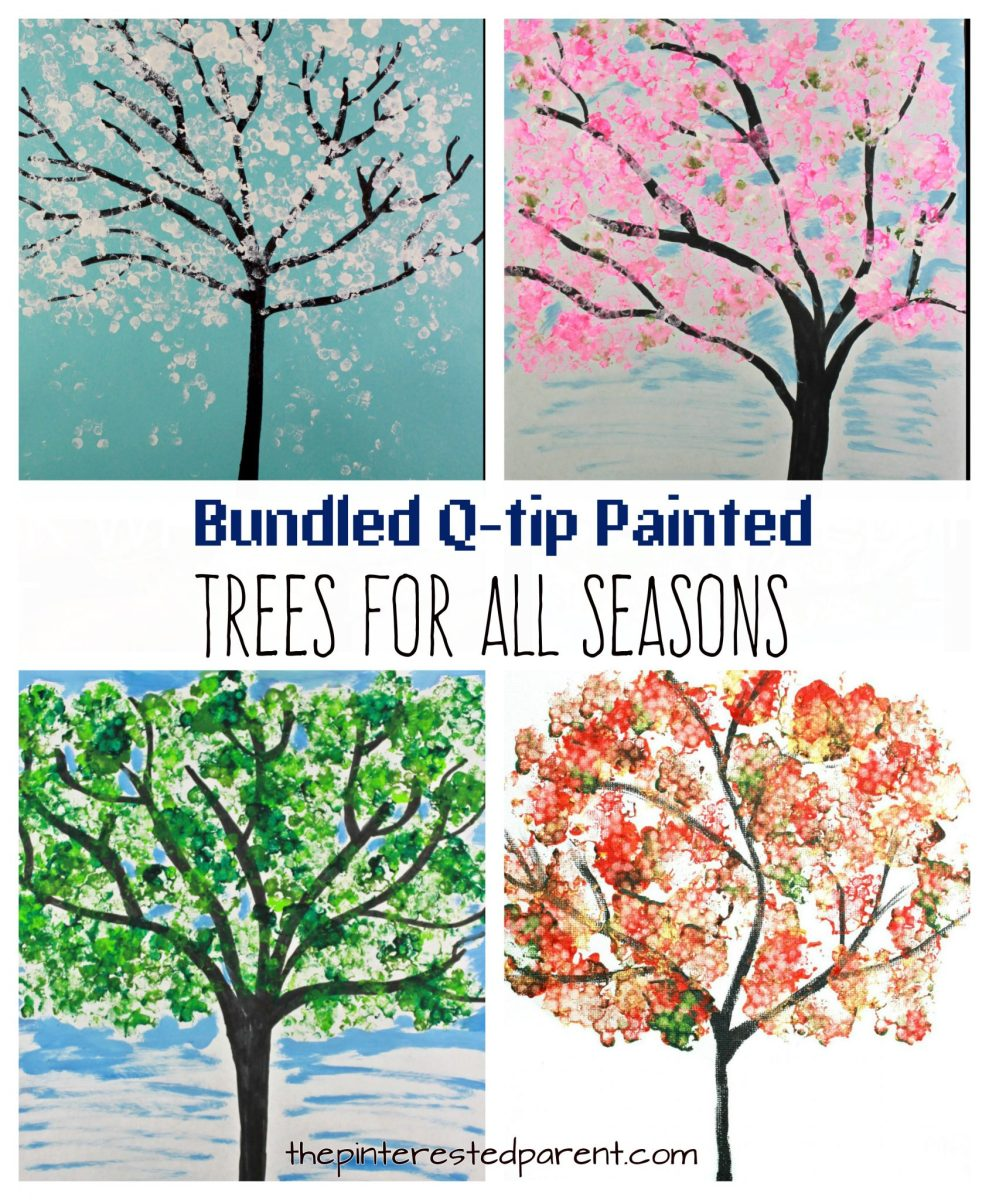 Bundled Q-tip Trees for Every Season