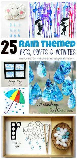 Fun Craft Ideas For Rainy Days