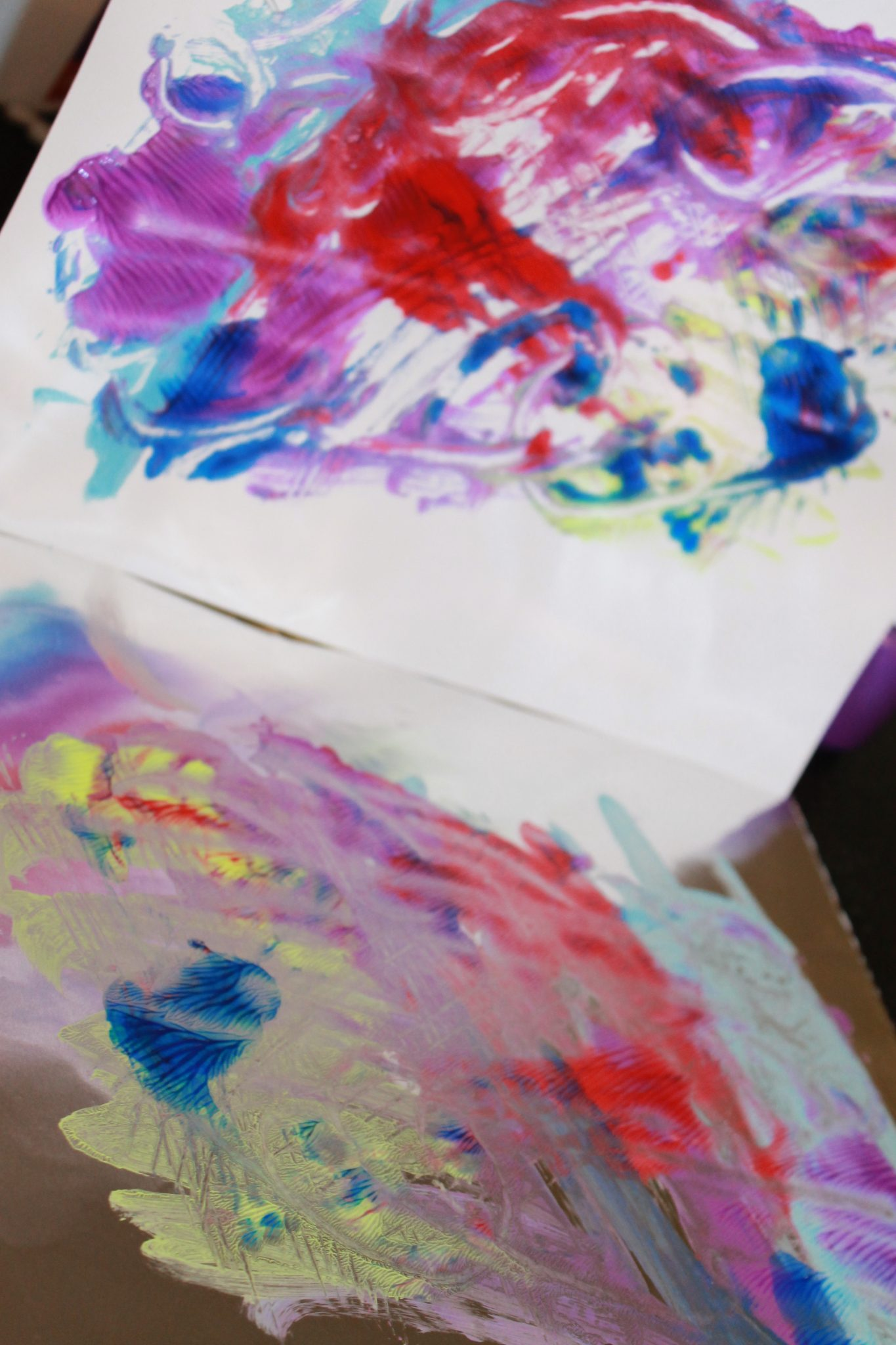 tin foil paint printing for kids the pinterested parent