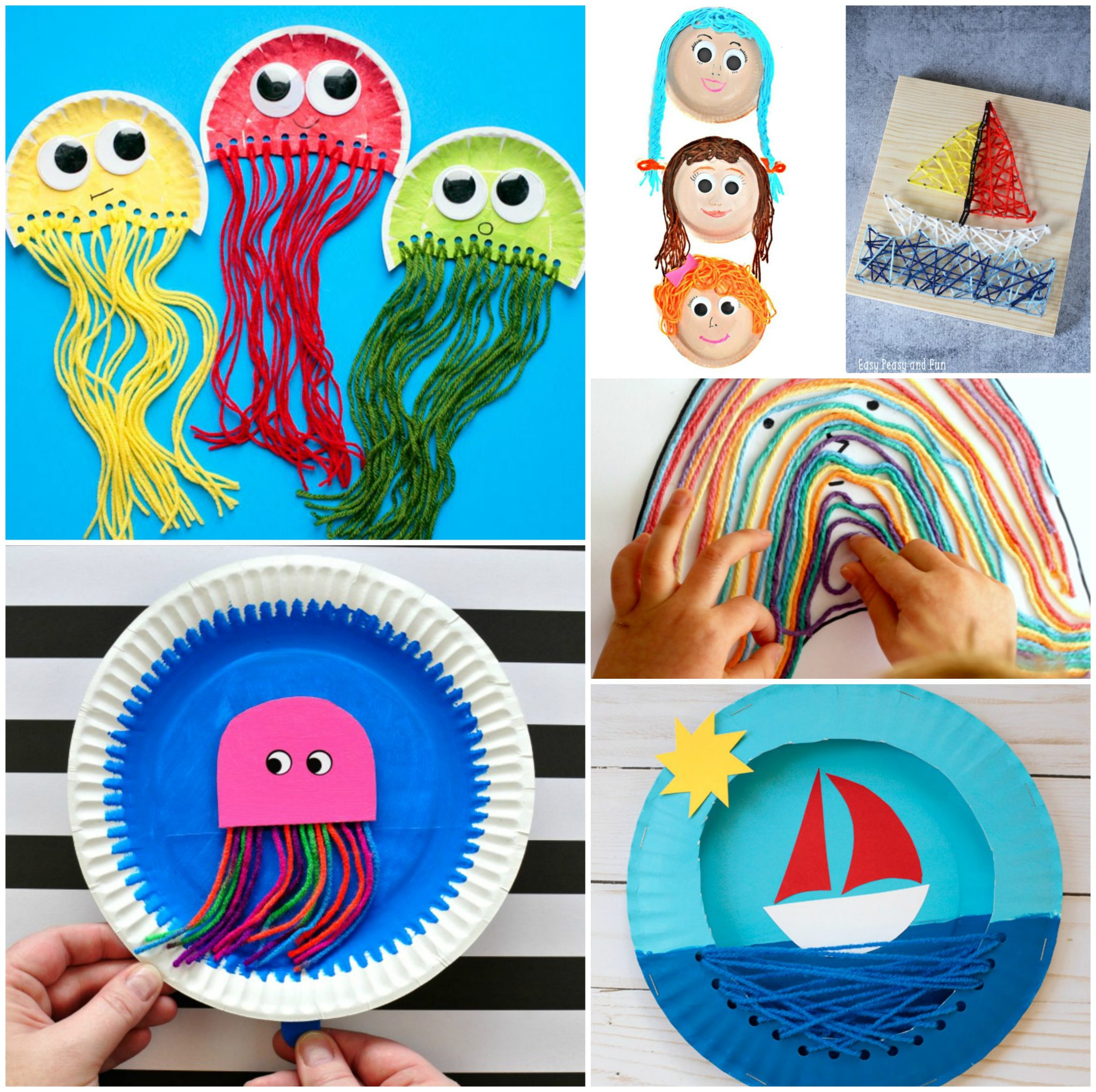 40 Fun Fantastic Yarn Crafts The Pinterested Parent