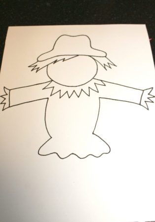 Free Scarecrow Printable Template