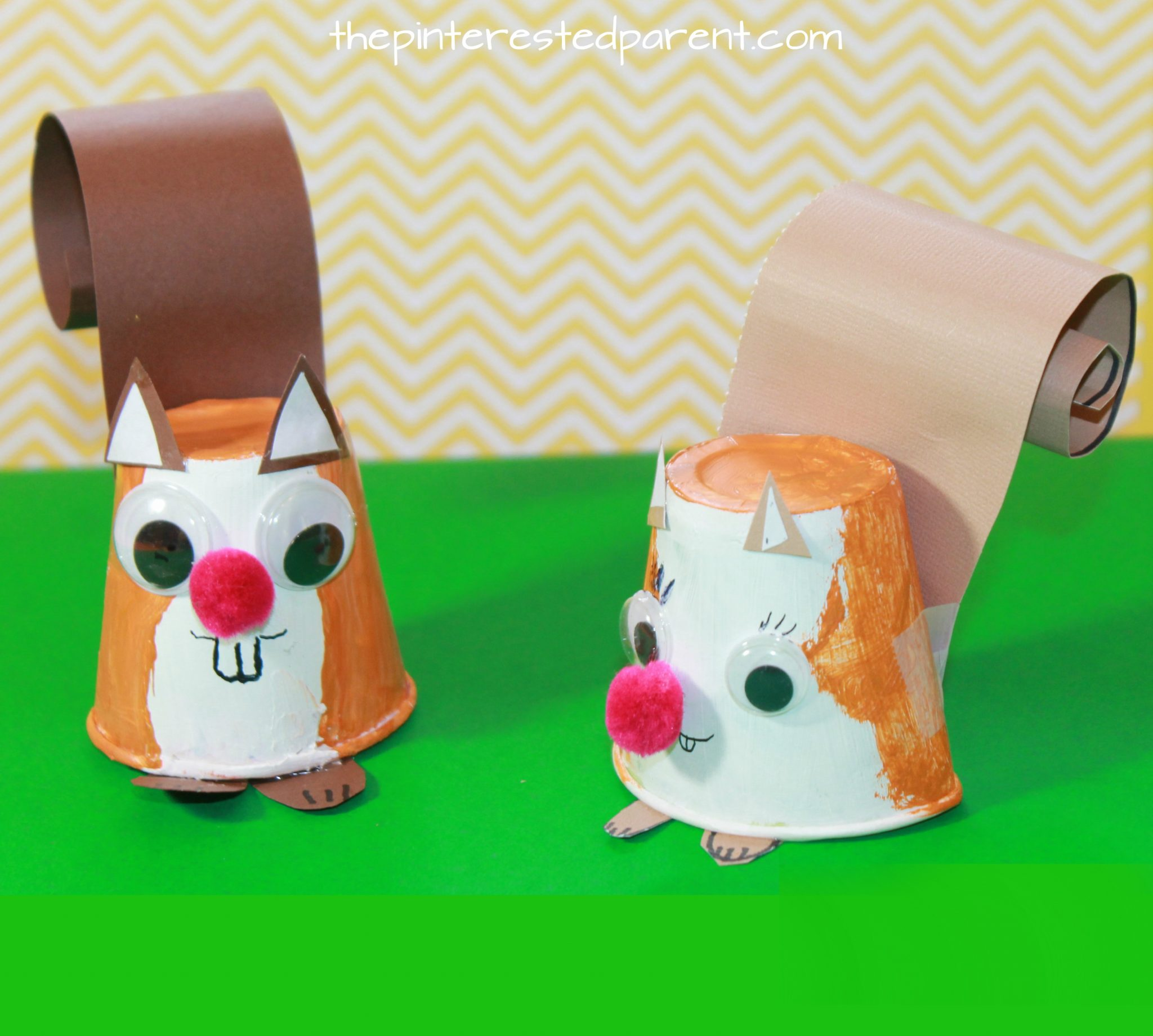 Dixie Cup Squirrel Craft The Pinterested Parent