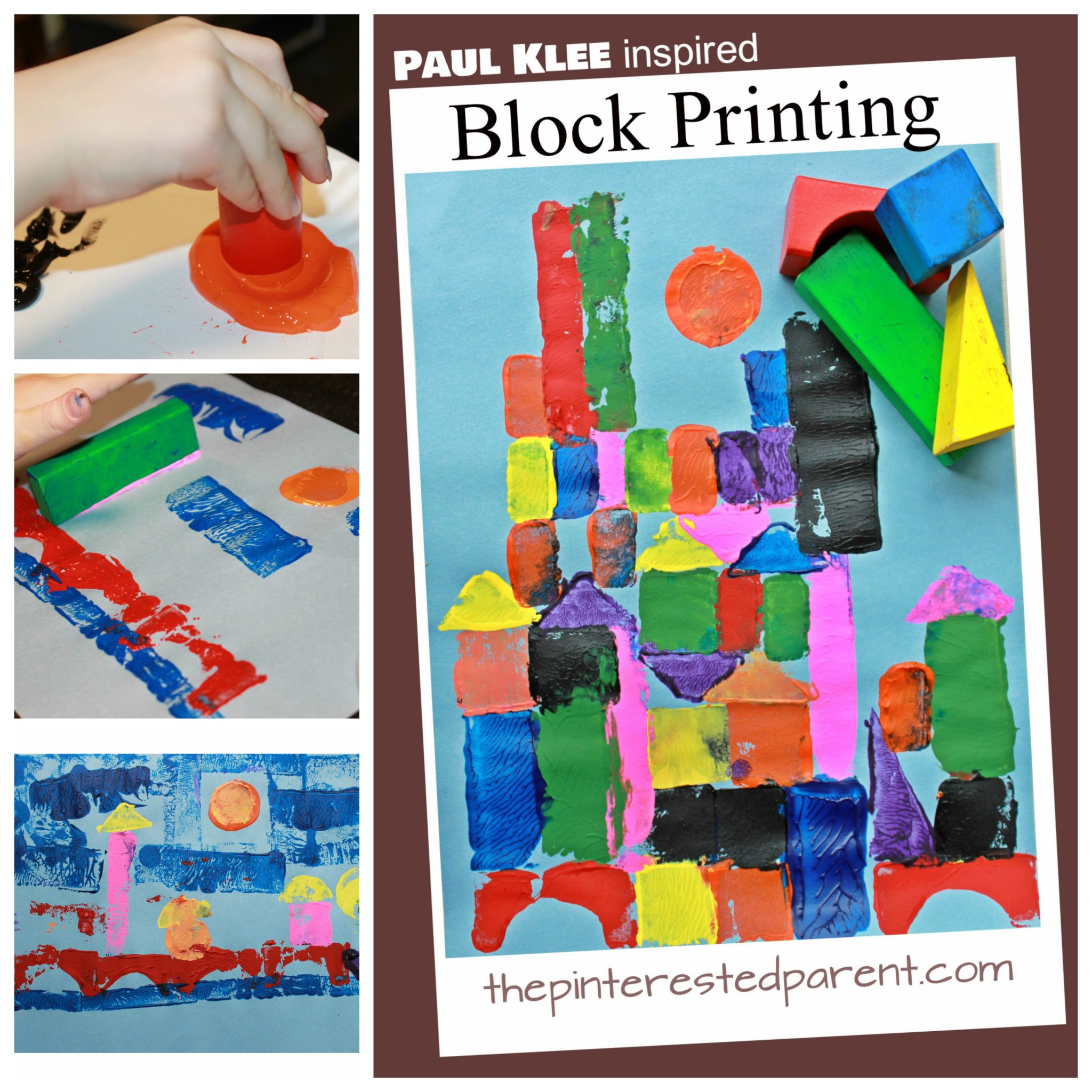 Paul Klee Inspired Block Printing – The Pinterested Parent