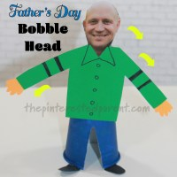 Father's Day Bobble Head Craft