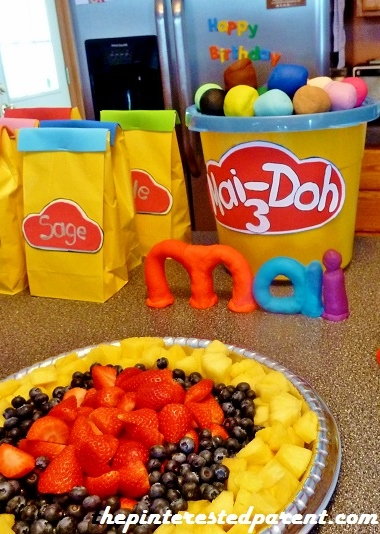 Play Doh Birthday The Pinterested Parent