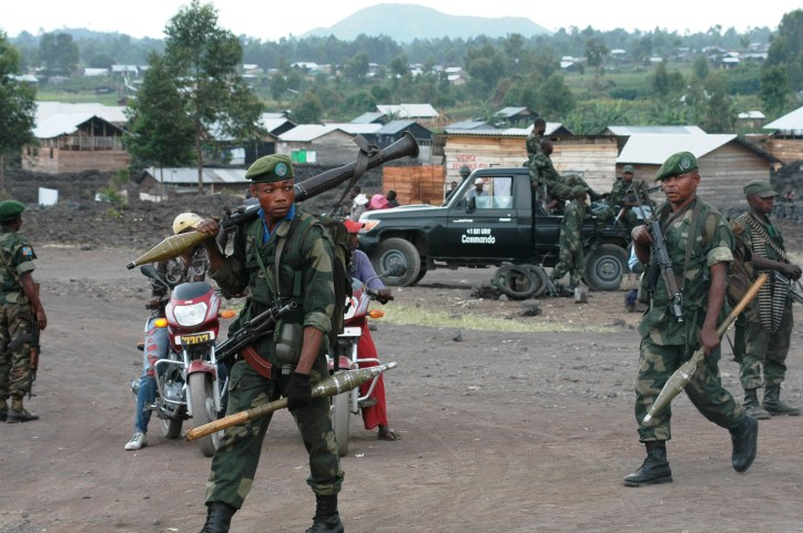 Conflict surrounding Virunga National Park