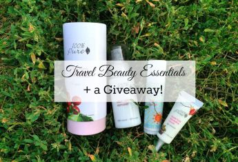 Travel Beauty Essentials (+Giveaway!)