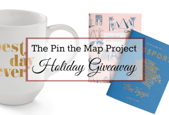 The Pin the Map Project Holiday Giveaway