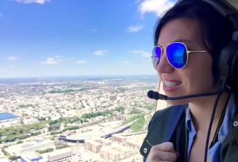 What It's Like to Take a Helicopter Tour Above NYC