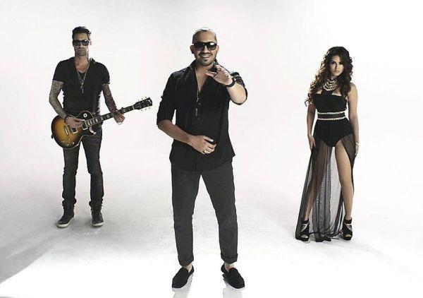 Sunny Leone, Ali Quli Mirza and Daniel Weber