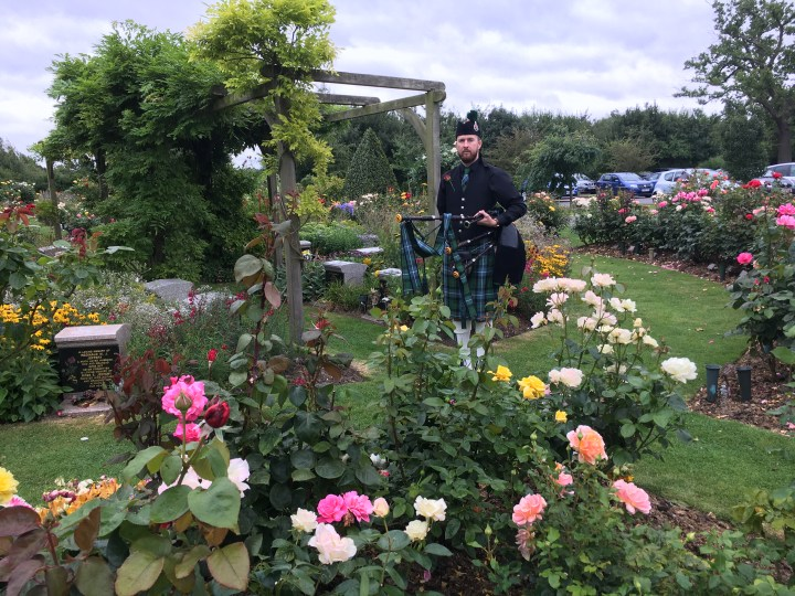 Image of Matthew McRae at the Garden of England in Kent