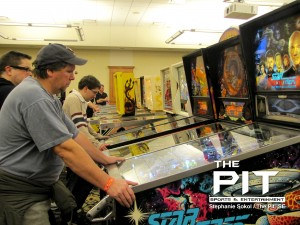 The Michigan Pinball Expo hosted Oakland University's Oakland Center, is in its 5th year. Photo/STEPHANIE SOKOL