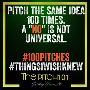 Pitch 100 Times