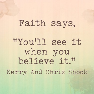 Faith Says…