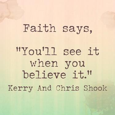 Faith Says…